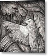 Bird Of Life Metal Print by Praphavit Premtha