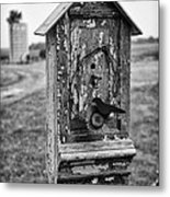 Birdhouse Metal Print
