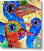 Birds 736 - Marucii Metal Print
