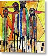 Birds 738 - Marucii Metal Print