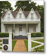 Birth Home Of Dwight D Eisenhower - Denison Texas Metal Print