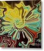 Birth Of A Flower Metal Print by Lorraine Heath