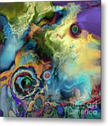 Birth Of A Star Metal Print by Ursula Freer