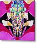 Birth Of The Flying Rainbow Lasagne Metal Print