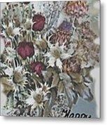 Birthday Flowers Metal Print