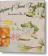 Birthplace Of Sweet Tea Metal Print