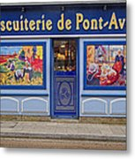 Biscuiterie In Pont Avon Metal Print