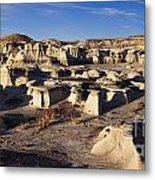 Bisti Badlands Pano Metal Print