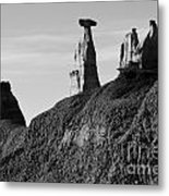 Bisti Land Form 1 Metal Print