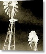 Bits Of Dust In The Wind Metal Print