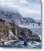 Bixby Bridge - Large Print Metal Print by Anthony Citro