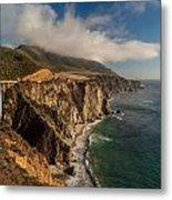 Bixby Coastal Drive Metal Print by Mike Reid