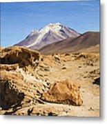 Bizarre Landscape Bolivia Metal Print