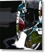 Black 1955 Thunderbird Metal Print