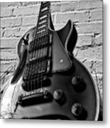Black And Blues Metal Print
