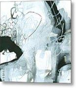 Black And White #1 Metal Print