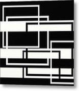 Black And White Art - 151 Metal Print