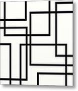 Black And White Art - 156 Metal Print