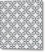 Black And White Designs Metal Print