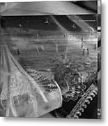 Black And White Moments Metal Print