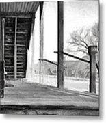 Black And White Or Shades Of Gray? Metal Print
