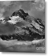 Black And White Tantalus Storms Metal Print