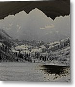 Black Bells Metal Print