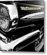 Black Bonneville Metal Print