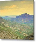 Black Butte From White Rock Metal Print