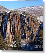Black Canyon Butte Metal Print