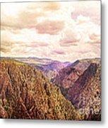 Black Canyon Colorado Metal Print