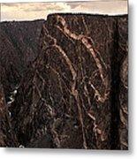Black Canyon National Park In Colorado Metal Print