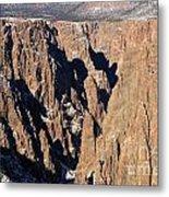 Black Canyon Pinnacles Metal Print