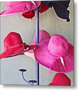 Black Chapeau Of The Family Metal Print