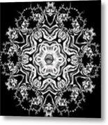Black Diamond Princess Pendant Metal Print