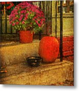 Black Dog Coffee And Catering Metal Print