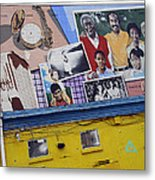 Black Family Reunion Mural Metal Print