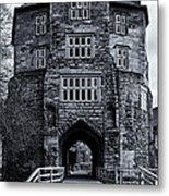 Black Gate Metal Print
