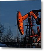 Black Gold  Metal Print