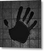 Black Hand Metal Print