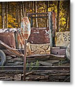 Black Hills Gold Truck Sign Metal Print