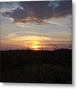 Black Hills Sunset IIi Metal Print