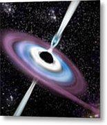 Black Hole 1a Metal Print by Marc Ward