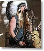 Black Label Society - Zak Wylde Metal Print