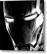 Black Led Avenger Metal Print by Kayleigh Semeniuk