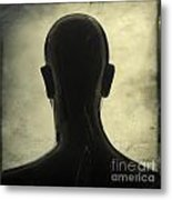 Black Mannequin Metal Print by Bernard Jaubert