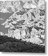 Black Mountains Of Arizona Metal Print