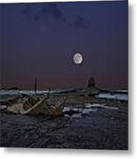 Black Nab And The Wreck Of The Admiral Von Tromp Metal Print