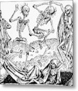 Black Plague, 1493 Metal Print