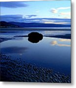 Black Rock Metal Print